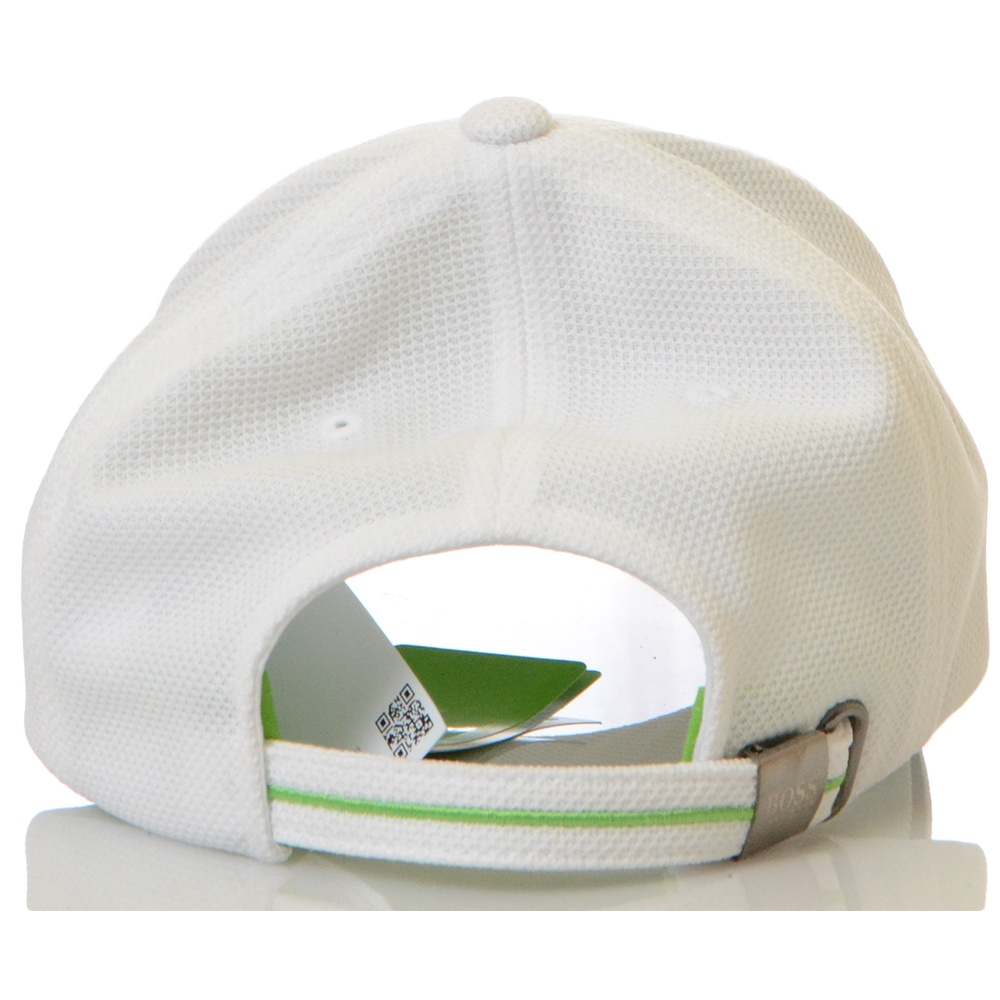 Hugo Boss Mesh White Baseball Cap - Accessories from N22 Menswear UK 3a6536ff3e9