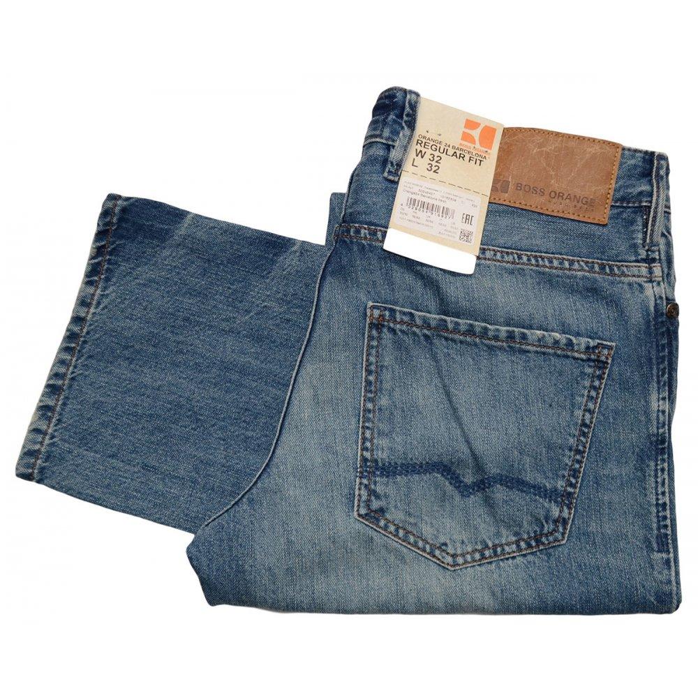 4b8b3086089 Hugo Boss Orange 24 Barcelona Regular Fit Jeans Clothing From N22