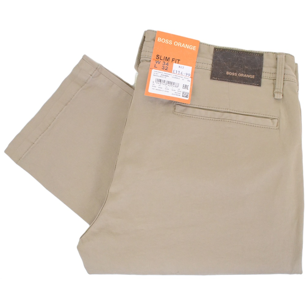 purchase cheap classic shoes latest selection Schino Slim Fit Stretch Cotton Beige Chino