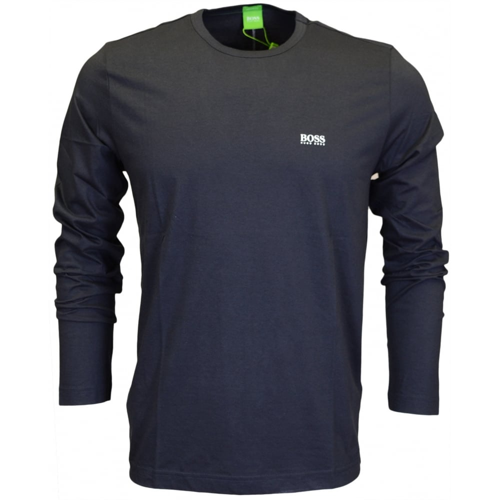 f3188d5a4 Hugo Boss Togn Cotton Navy Full Sleeve T-Shirt - Clothing from N22 ...