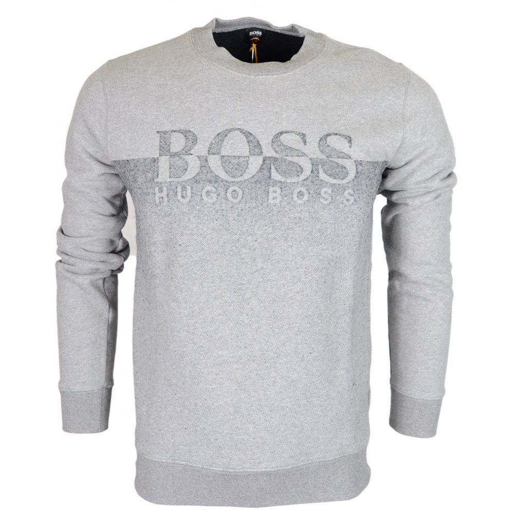 a539419a6 Hugo Boss Withmore Regular Fit Grey Sweatshirt - Clothing from N22 ...