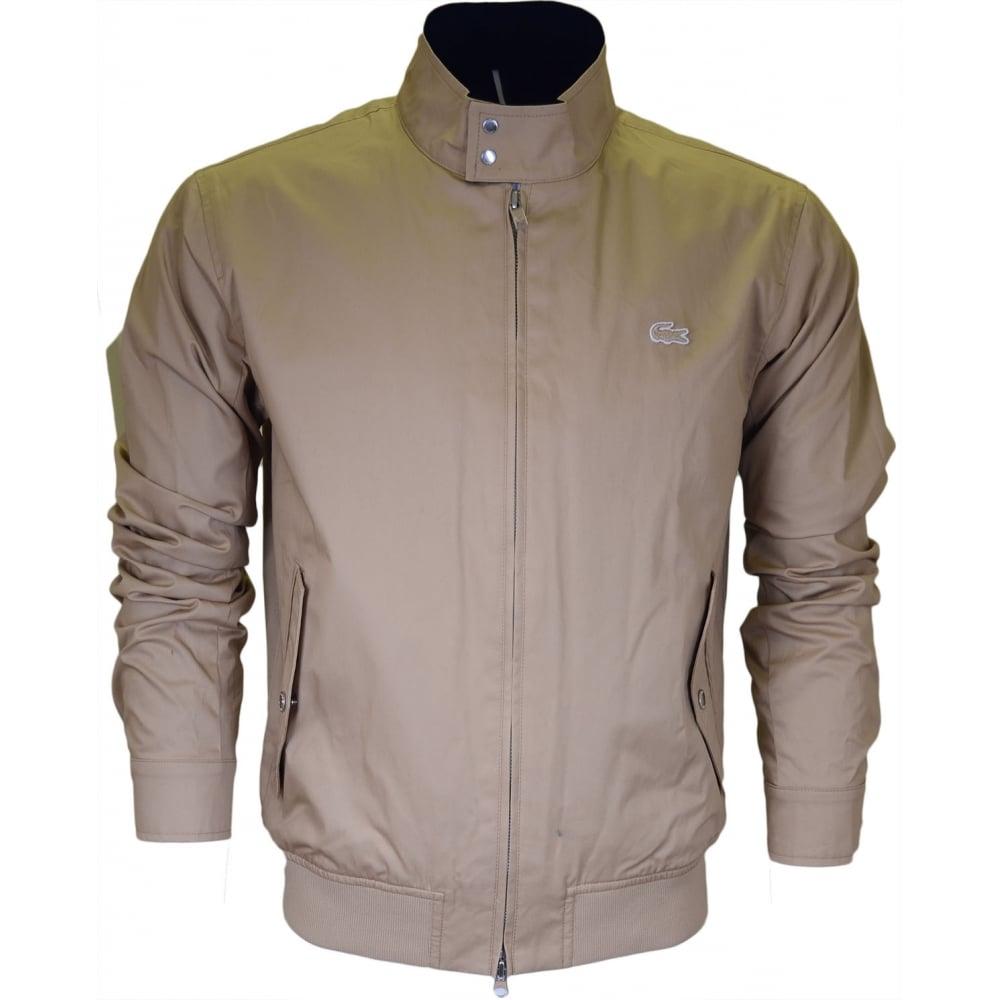b445cb188 Lacoste BH6255 Beige Harrington Jacket - Clothing from N22 Menswear UK