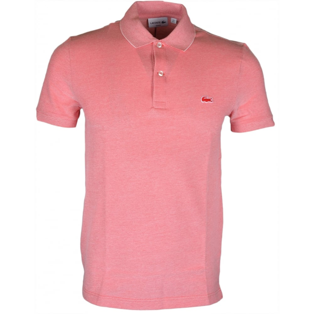 Lacoste PH6633 Slim Fit Redish Pink Polo