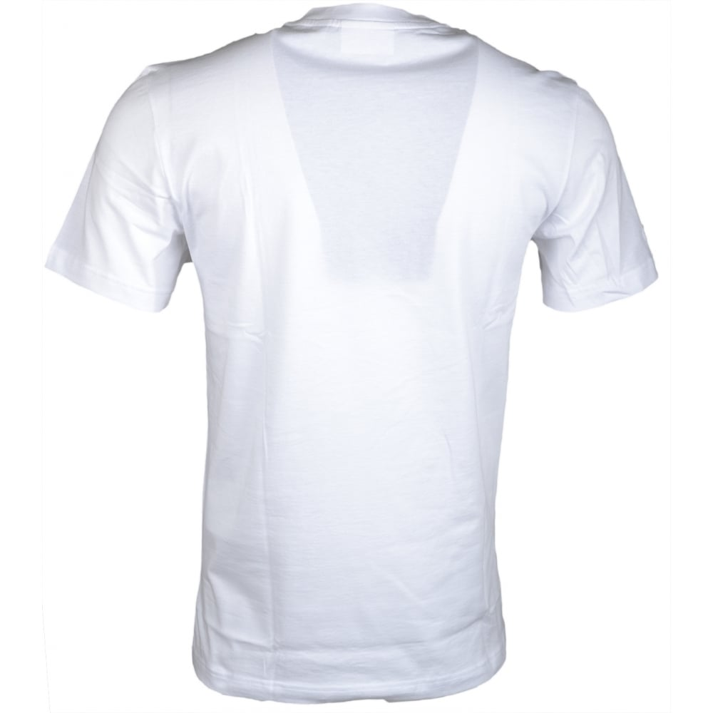 315183ac Lacoste TH1895 Round Neck Regular Fit White T-Shirt
