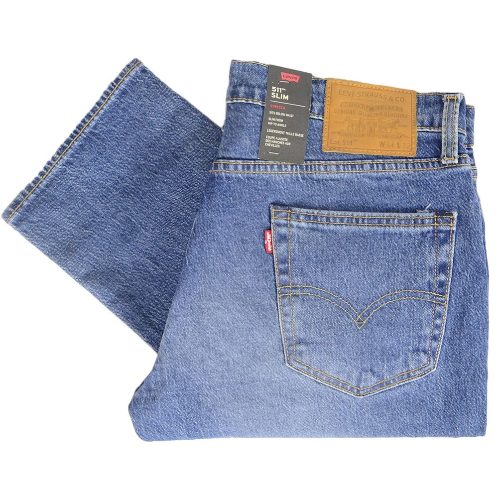 b90db3d8 Levi's 511 Original Mid Wash Slim Fit Jeans - Clothing from N22 ...