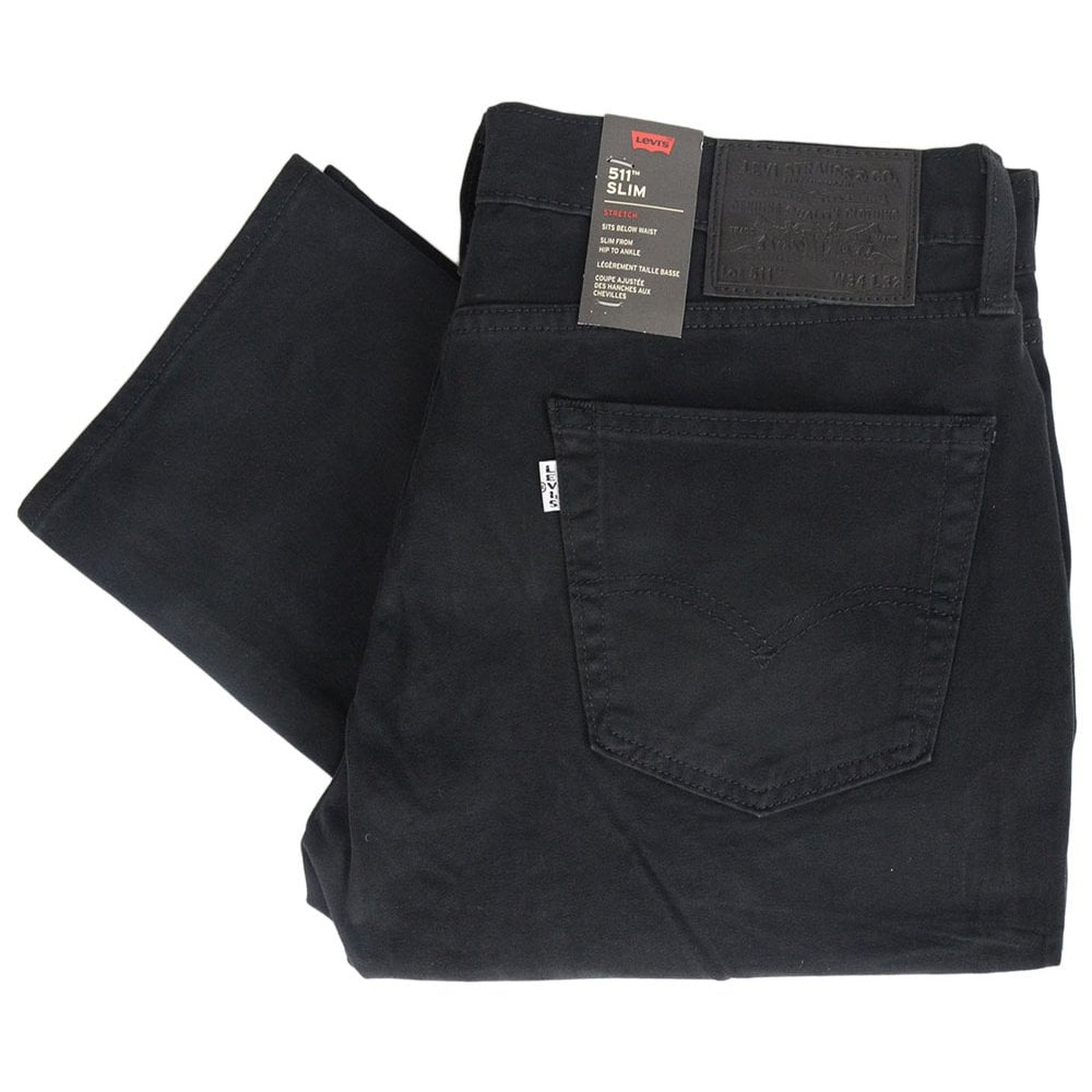 81d25370 Levi's 511 Original Mineral Black Slim Fit Jeans - Clothing from N22 ...