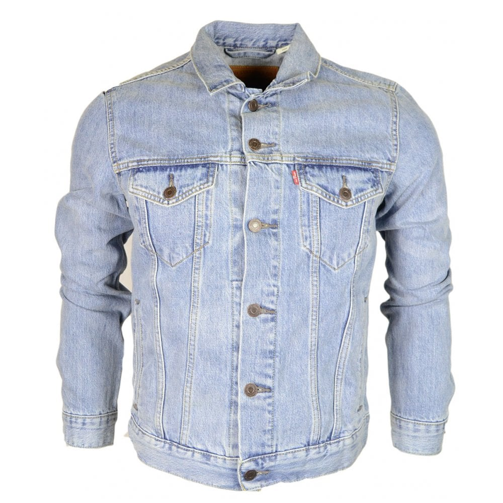 e1a8f08b1e3 Levi s The Trucker Cotton Light Blue Denim Jacket - Clothing from ...