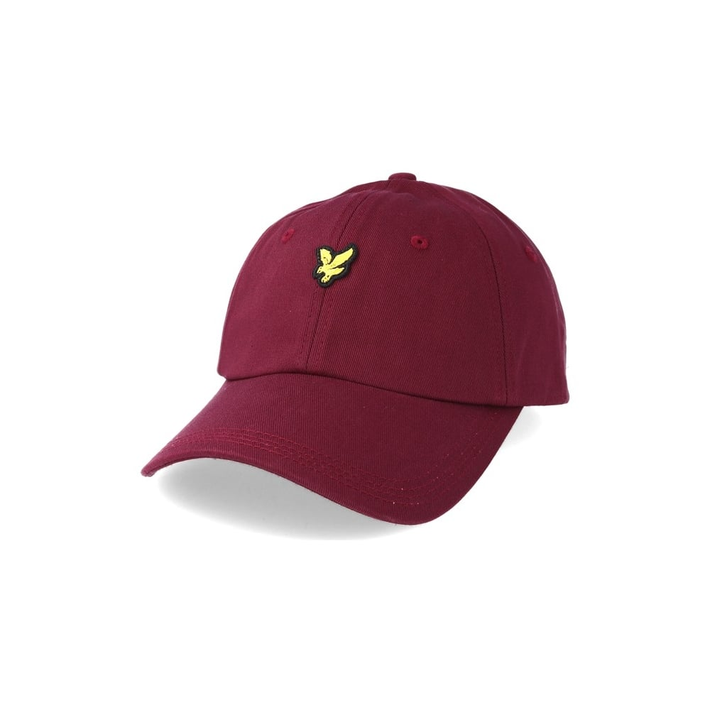 cce39e070a885 Lyle   Scott Burgundy Logo Baseball Cap - Accessories from N22 ...