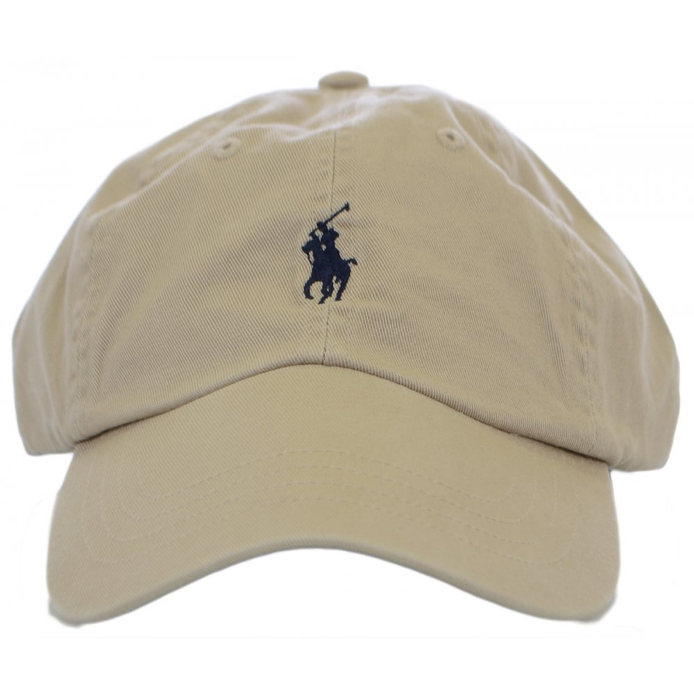 fc65efa9e Polo Ralph Lauren Beige Polo Player Baseball Cap - Accessories from ...