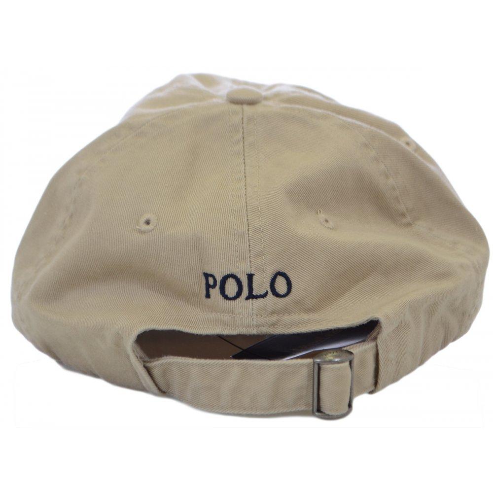 Polo Ralph Lauren Beige Polo Player Baseball Cap - Accessories from ... 922163291e9