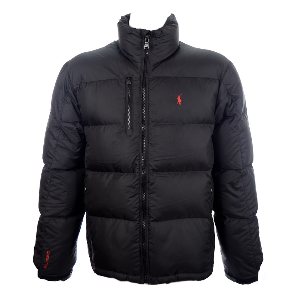 93fc84764f082 Polo Ralph Lauren Black Puffer Jacket - Clothing from N22 Menswear UK
