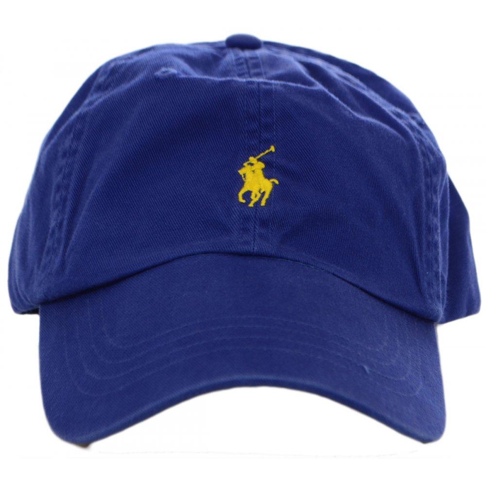 5dcba2c3676 Polo Ralph Lauren Blue Dolphin Polo Player Baseball Cap ...