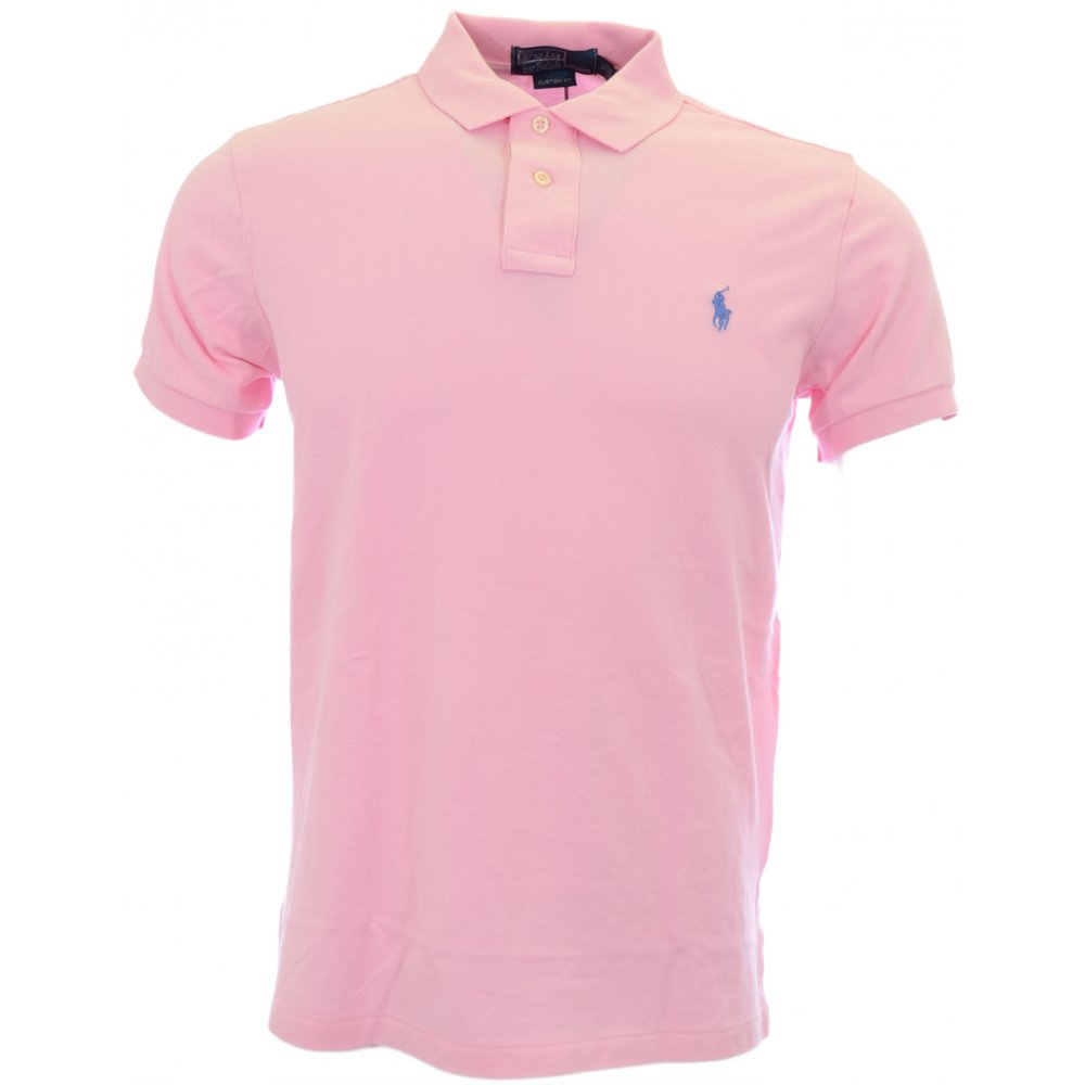 Shirt Fit Ralph Lauren Pink Custom Carmel Polo Nk8wPZ0OXn
