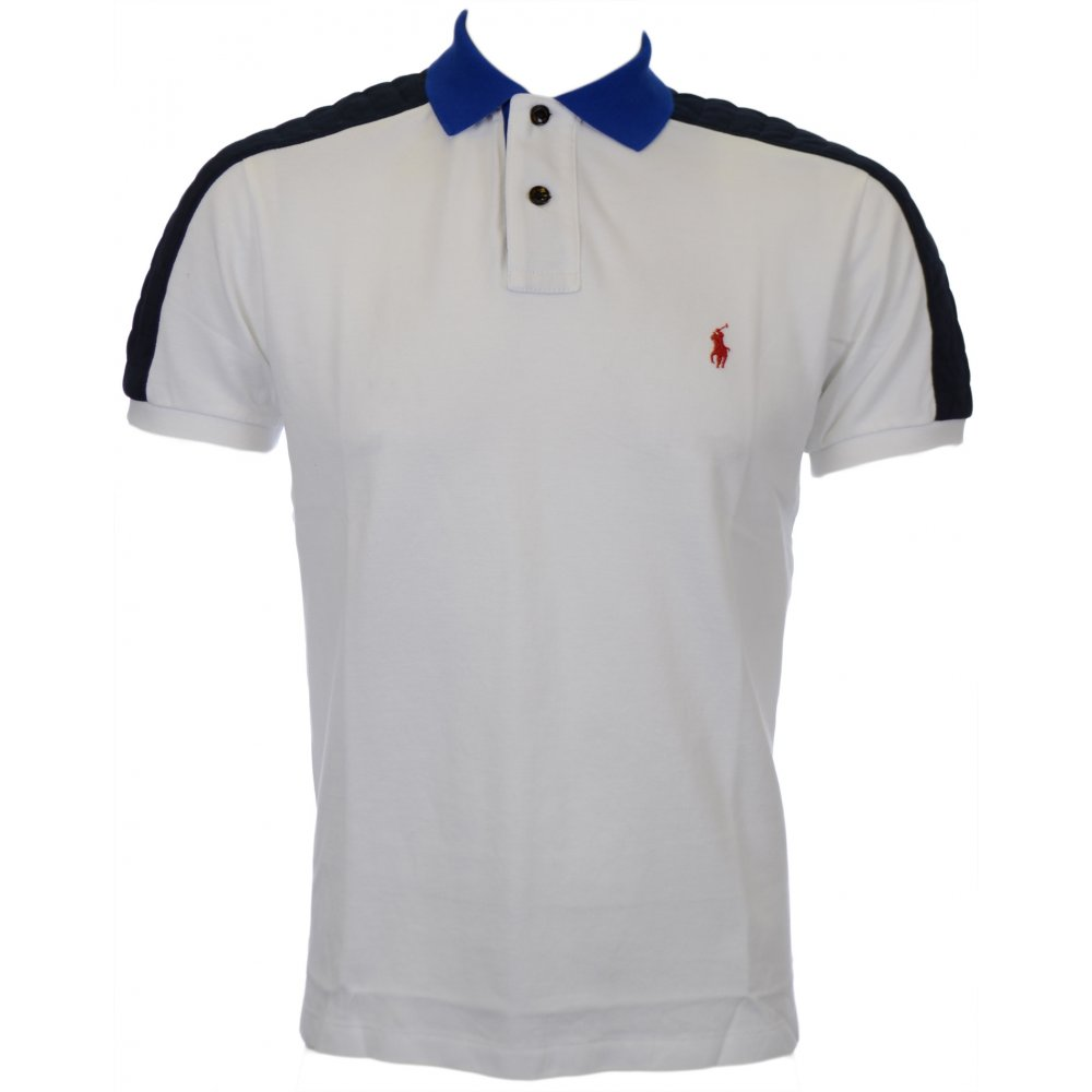 Polo Ralph Lauren Custom Fit White Polo Shirt Clothing From N22