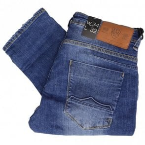 Cassa MOT 366 Regular Fit Stone Wash Jeans