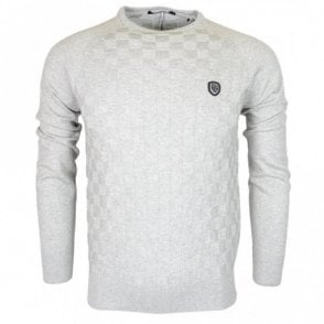 Charmer Cotton Grey Marl Knitwear Jumper