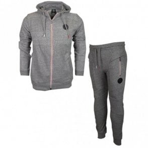 Innis Hamblin Zip Hooded Slim Fit Grey Tracksuit