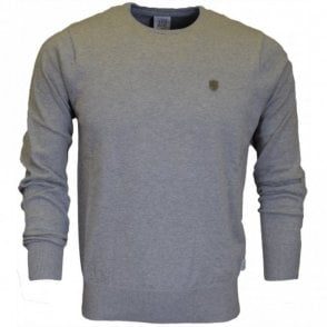 Muraco Grey Marl Cotton Jumper