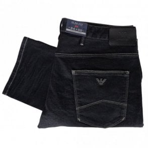 6X6J06 Slim Fit J06 Black Jeans