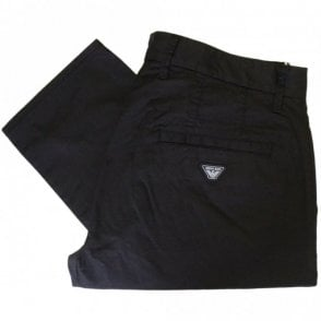 C6P15 Slim Fit P15 Black Chino