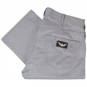 T6J21 Regular Fit Grey Jeans