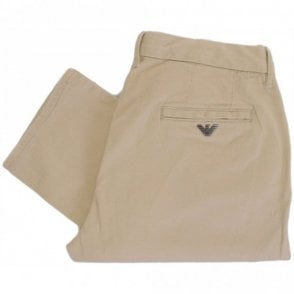 V6P15 Slim Fit Beige Chino