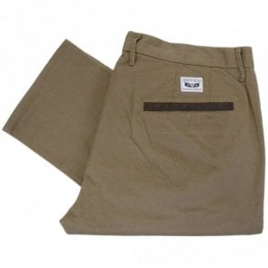 Z6P15 Slim Fit Brown Chino
