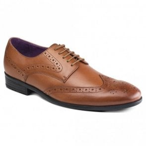 Lancetti Tan Leather Shoes