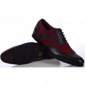 Miller Black/Red Shoes
