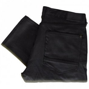 Cleopatra Wax Black Regular Fit Jeans