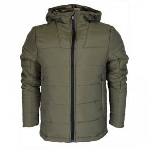 Rafael Polyester Zip Green Jacket