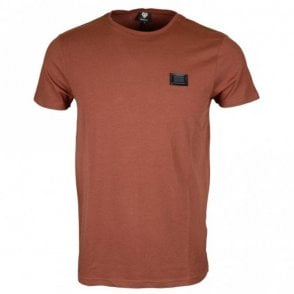 Reyes Stretch Cotton Sable T-Shirt