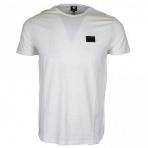 Reyes Stretch Cotton White T-Shirt