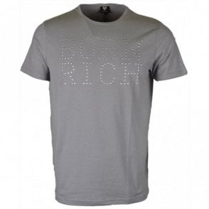 Ribery Stretch Cotton Grey T-Shirt