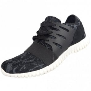 URBO Mesh Black Trainer