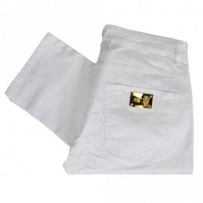 A2JRB005 Regular Fit Stretch White Jeans