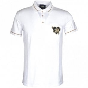 Jersey Stretch White Polo