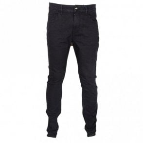 Slim Fit Stretch Black Jeans