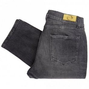 Slim Fit Stretch Grey Jeans
