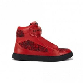 Atlantis Sneakers Red High Top Trainer