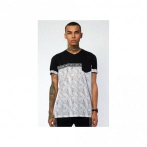 Uptown Grey Black T-Shirt
