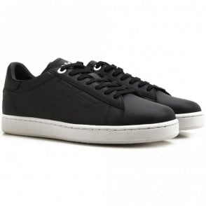 248028 Classic Leather Black Trainer