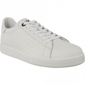 248028 Classic Leather White Trainer