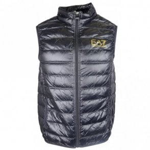 Ultra-Light Down Black Gillet