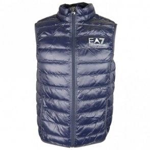 Ultra-Light Down Navy Gillet