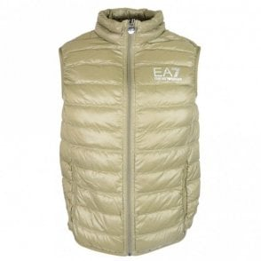 Ultra-Light Down Stone Green Gillet
