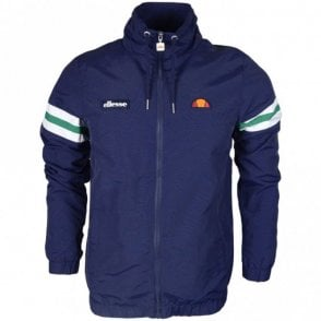 Bracciali Polyester Zip Hooded Navy Jacket