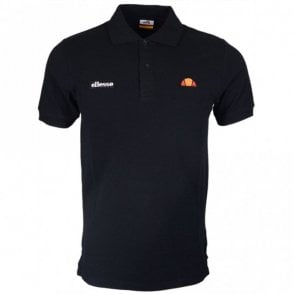 Montura Regular Fit Basic Logo Black Polo