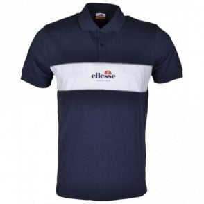 Pirlo Block Navy Polo