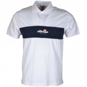 Pirlo Block Optic White Polo